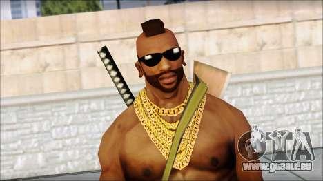 MR T Skin v9 für GTA San Andreas dritten Screenshot