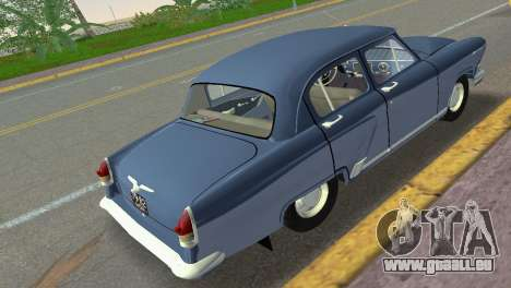 GAZ-21R Volga 1965 pour GTA Vice City sur la vue arrière gauche