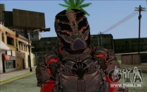 John Carver from Dead Space 3 pour GTA San Andreas troisième écran
