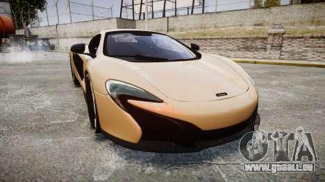 McLaren 650S Spider 2014 [EPM] Pirelli v2 pour GTA 4