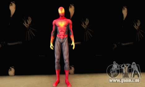 Skin The Amazing Spider Man 2 - Suit Fenix pour GTA San Andreas troisième écran