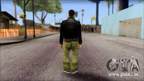 GTA 3 Claude Ped für GTA San Andreas zweiten Screenshot
