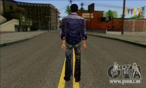 Lee from Walking Dead für GTA San Andreas zweiten Screenshot