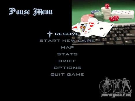 Menu Gambling für GTA San Andreas zwölften Screenshot