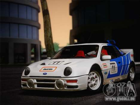 Ford RS200 Evolution 1985 für GTA San Andreas linke Ansicht