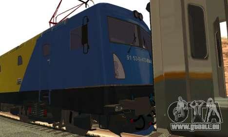 Le 6600 Kw-Phoenix pour GTA San Andreas sur la vue arrière gauche