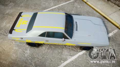 Dodge Challenger 1971 v2.2 PJ4 pour GTA 4 est un droit