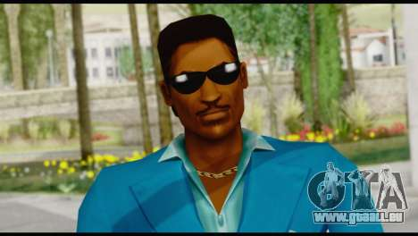 Lance Suit Shades pour GTA San Andreas troisième écran