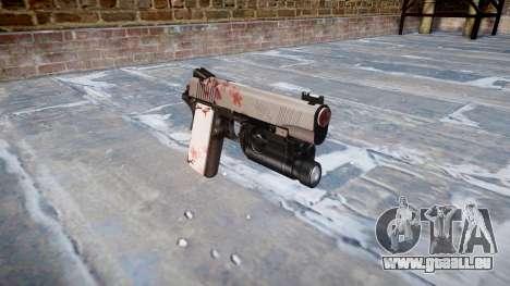 Gun Kimber 1911 Cherry blossom für GTA 4