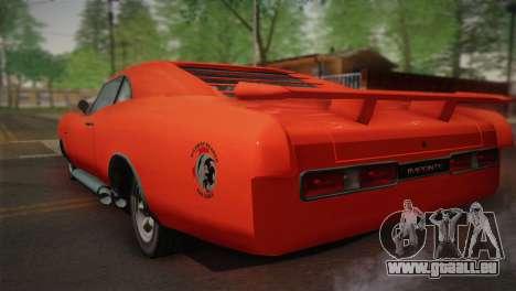 GTA 4 Dukes Tunable für GTA San Andreas Seitenansicht