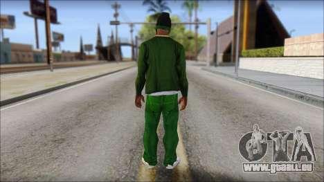New CJ v4 pour GTA San Andreas deuxième écran