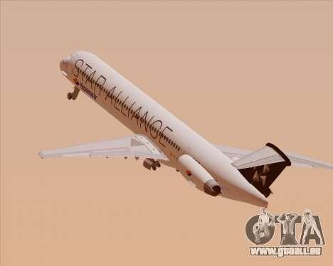 McDonnell Douglas MD-82 Spanair pour GTA San Andreas moteur