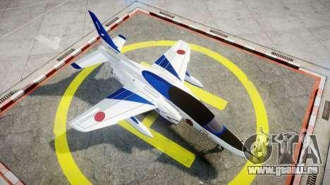 Kawasaki T-4 für GTA 4 rechte Ansicht