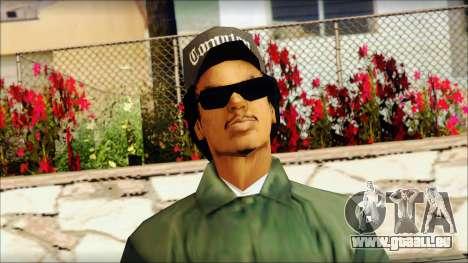 Eazy-E Green v2 pour GTA San Andreas troisième écran