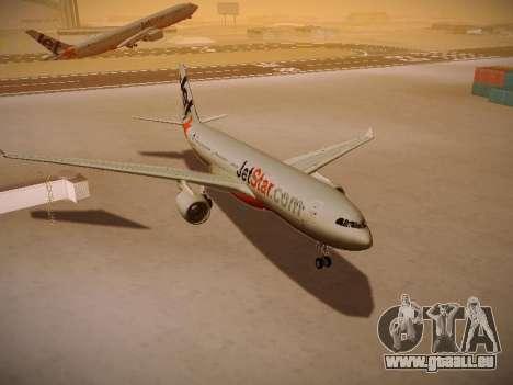 Airbus A330-200 Jetstar Airways für GTA San Andreas Seitenansicht