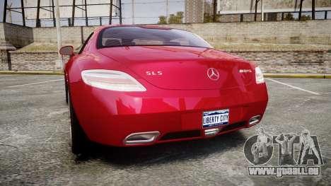 Mercedes-Benz SLS AMG [EPM] pour GTA 4 Vue arrière de la gauche