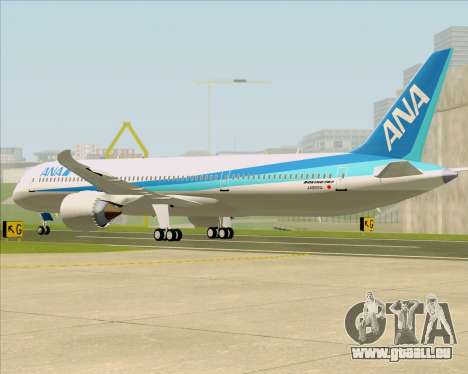 Boeing 787-9 All Nippon Airways für GTA San Andreas rechten Ansicht