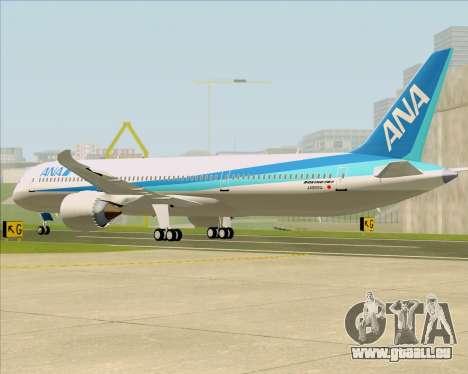 Boeing 787-9 All Nippon Airways pour GTA San Andreas vue de droite
