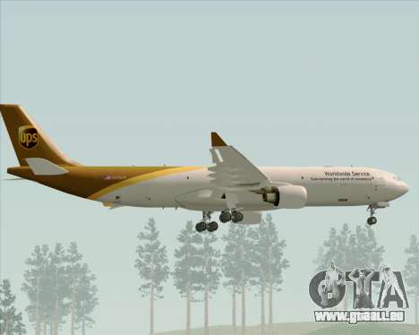 Airbus A330-300P2F UPS Airlines pour GTA San Andreas roue