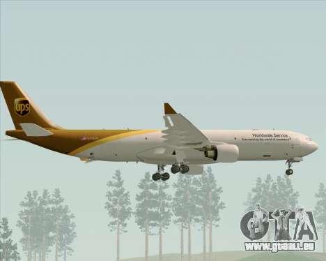 Airbus A330-300P2F UPS Airlines für GTA San Andreas Räder