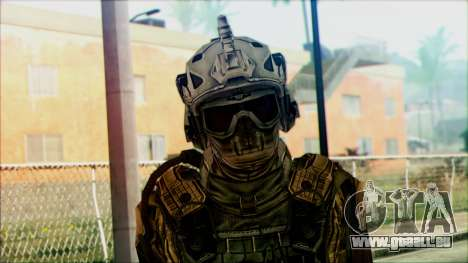 Les soldats de l'équipe de Fantômes 3 pour GTA San Andreas troisième écran