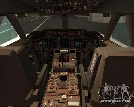 Boeing 747-830 Lufthansa - Fanhansa pour GTA San Andreas salon