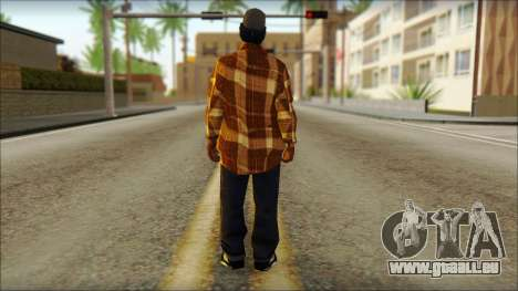 Eazy E Lumberjack Skin pour GTA San Andreas deuxième écran