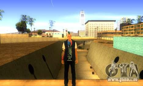 Punk v2 pour GTA San Andreas