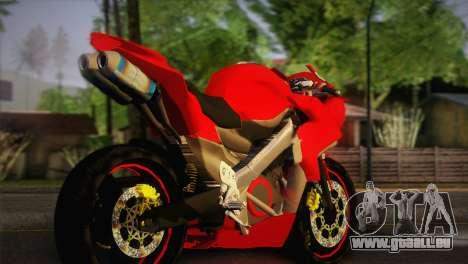 Yamaha New V-Ixion Lightning Concept Variasi für GTA San Andreas linke Ansicht