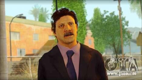 GTA 5 Ped 13 pour GTA San Andreas troisième écran