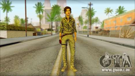Tomb Raider Skin 3 2013 pour GTA San Andreas