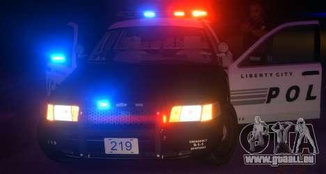 Ford Crown Victoria LCPD [ELS] Pushbar pour GTA 4 est un droit