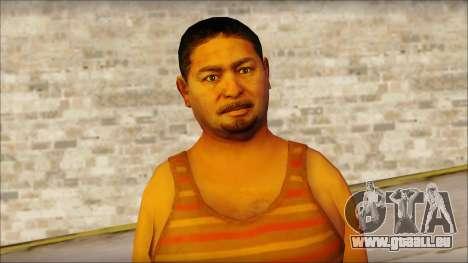 GTA 5 Ped 14 für GTA San Andreas dritten Screenshot