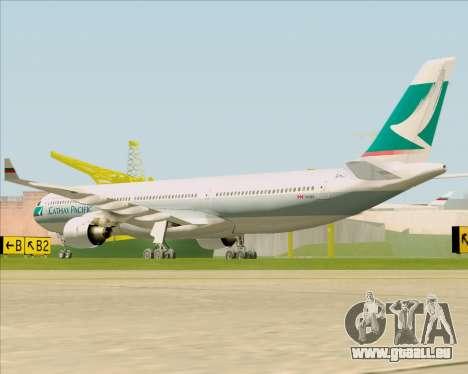 Airbus A330-300 Cathay Pacific für GTA San Andreas Rückansicht