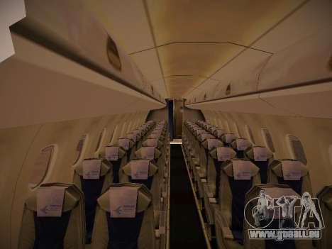 Embraer E190 Azul Tudo Azul pour GTA San Andreas vue arrière