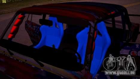 VAZ 2105 Drift für GTA San Andreas Innenansicht