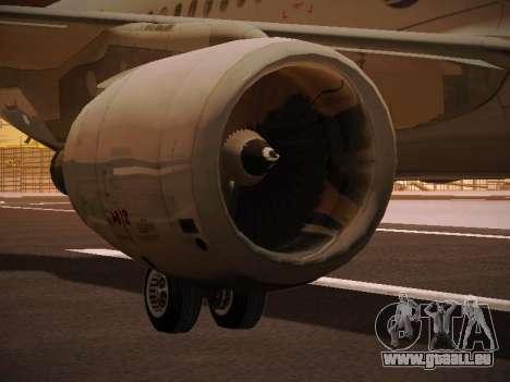 Airbus A320-214 LAN Oneworld pour GTA San Andreas roue