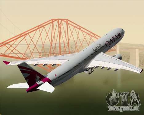 Airbus A330-300 Qatar Airways pour GTA San Andreas roue