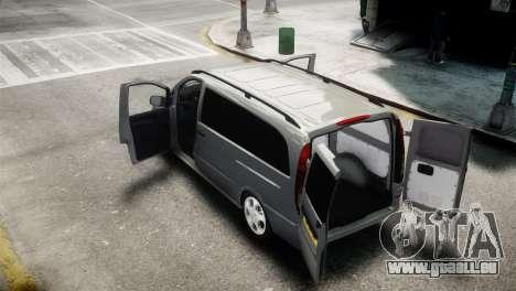 Mercedes-Benz Vito Sport-X für GTA 4 hinten links Ansicht