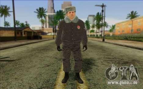 La Police En Russie, la Peau de 4 pour GTA San Andreas