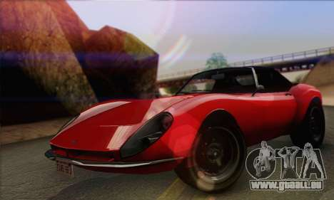 Grotti Stinger 1.0 (IVF) für GTA San Andreas