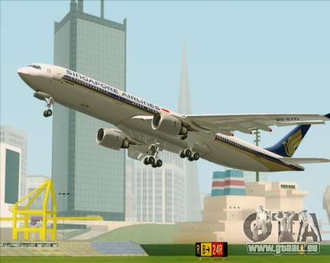 Airbus A330-300 Singapore Airlines für GTA San Andreas