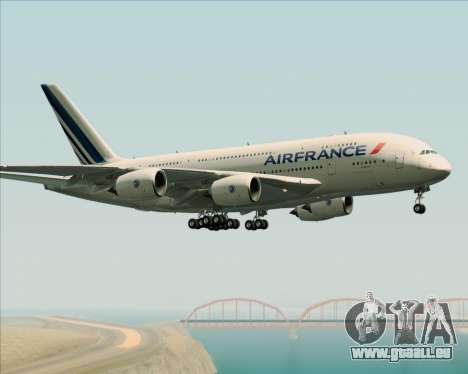 Airbus A380-861 Air France pour GTA San Andreas