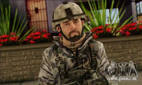 Task Force 141 (CoD: MW 2) Skin 2 für GTA San Andreas dritten Screenshot