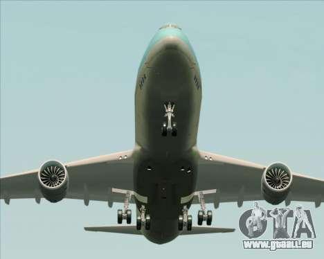 Boeing 747-8 Cargo Korean Air Cargo pour GTA San Andreas moteur