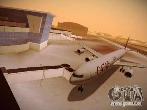 Airbus A340-600 Qatar Airways für GTA San Andreas