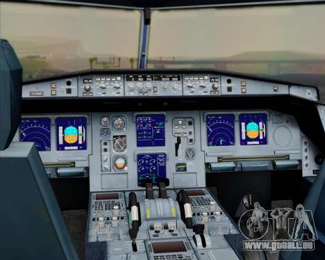 Airbus A330-300 Qatar Airways pour GTA San Andreas salon