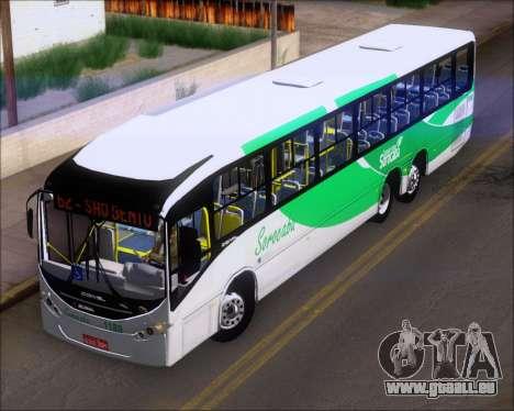Comil Svelto BRT Scania K310IB 6x2 Sorocaba pour GTA San Andreas vue intérieure