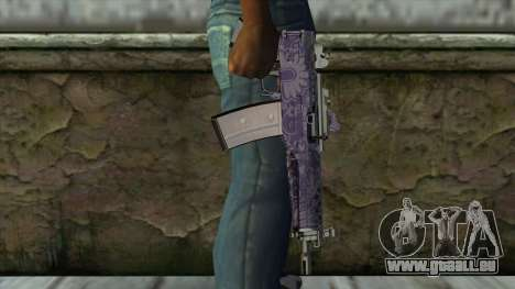 Graffiti MP5 für GTA San Andreas dritten Screenshot
