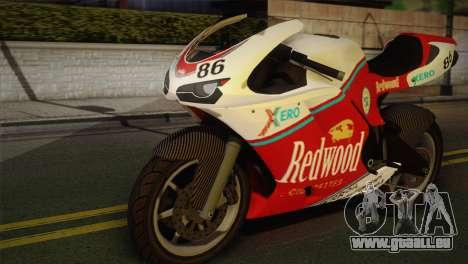Bati RR 801 Redwood pour GTA San Andreas